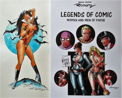 Legends of Comic Women and Men of Paper By Enric Badia Romero