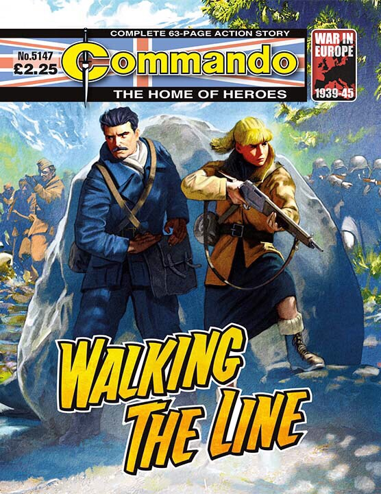 Commando 5147: Home of Heroes: Walking the Line