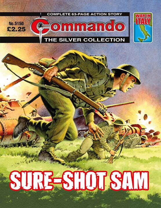 Commando 5150: Silver Collection: Sure-Shot Sam