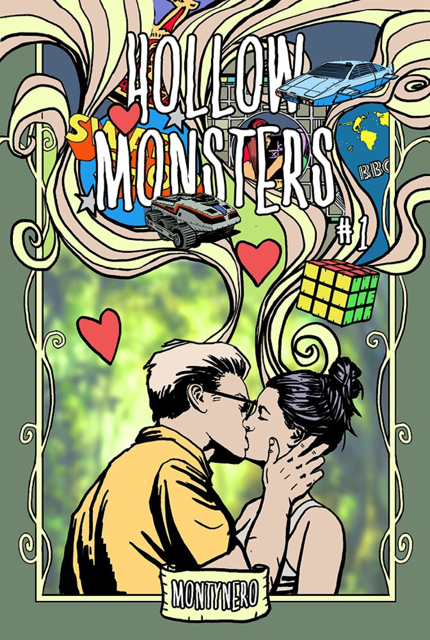 Hollow Monsters #1 - Cover