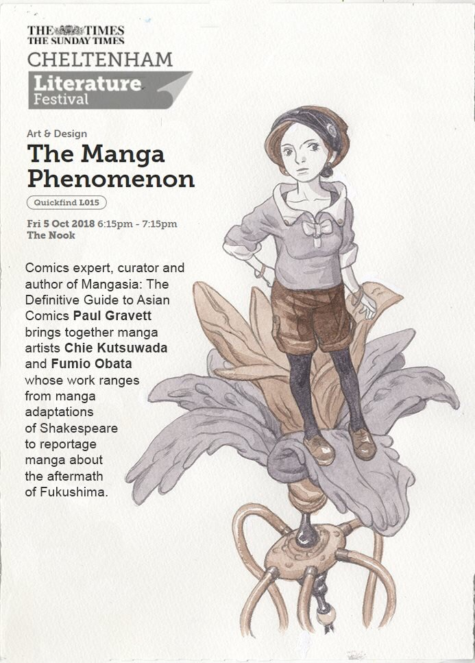 Cheltenham Literature Festival - The Manga Phenomenon