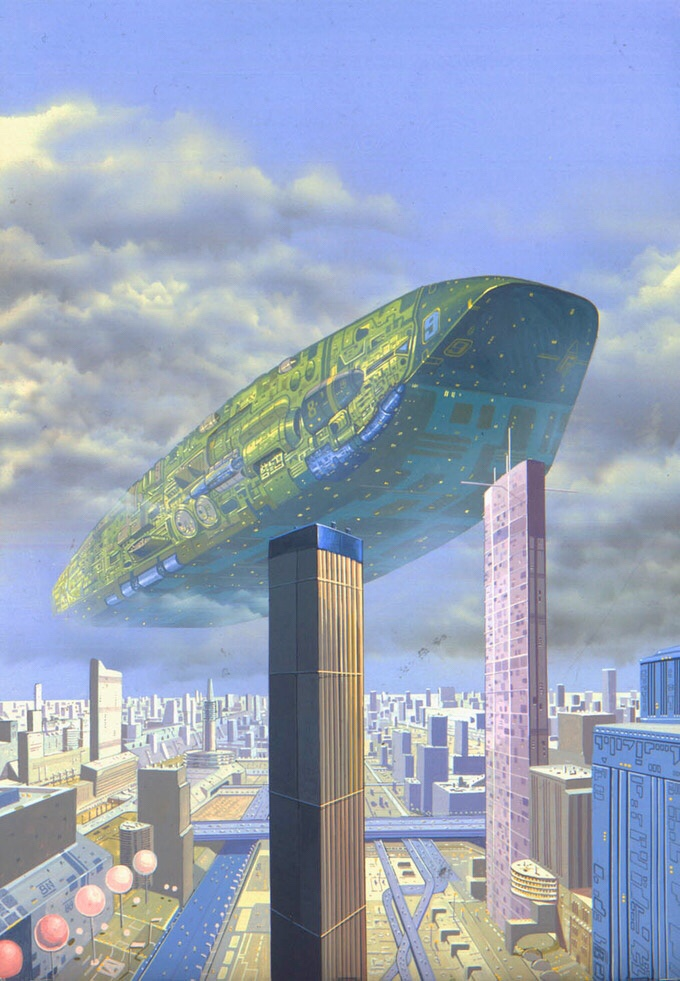 Spacecraft 2000 to 2100 AD - Colonial III, Angus McKie