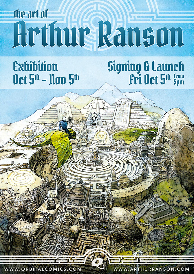 Orbital Comics - The Art of Arthur Ranson Exhibition