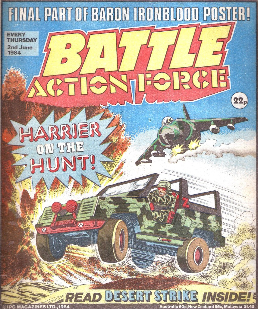Battle Action Force - cover dated 2nd June 1984