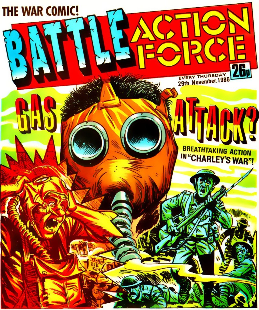"Action Force didn't even make the cover of the final issue of Battle Acton Force in which they appeared, but ""Charley's War"" did"