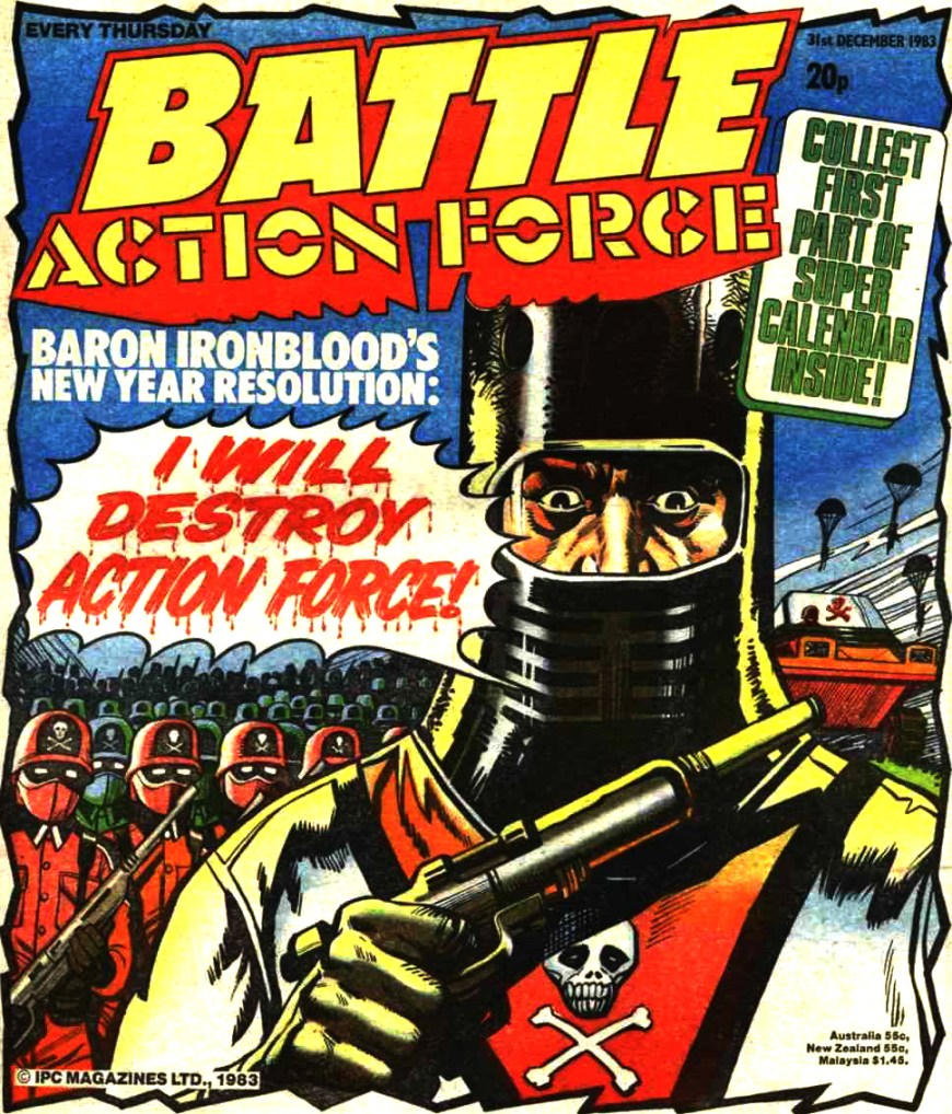 Battle Action Force - cover dated 31st December 1983