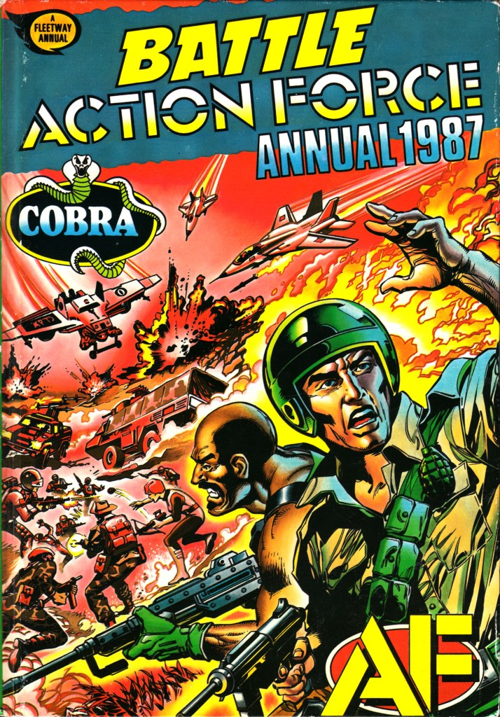 Action Force did appear in the IPC-published 1987 Battle Action Force annual