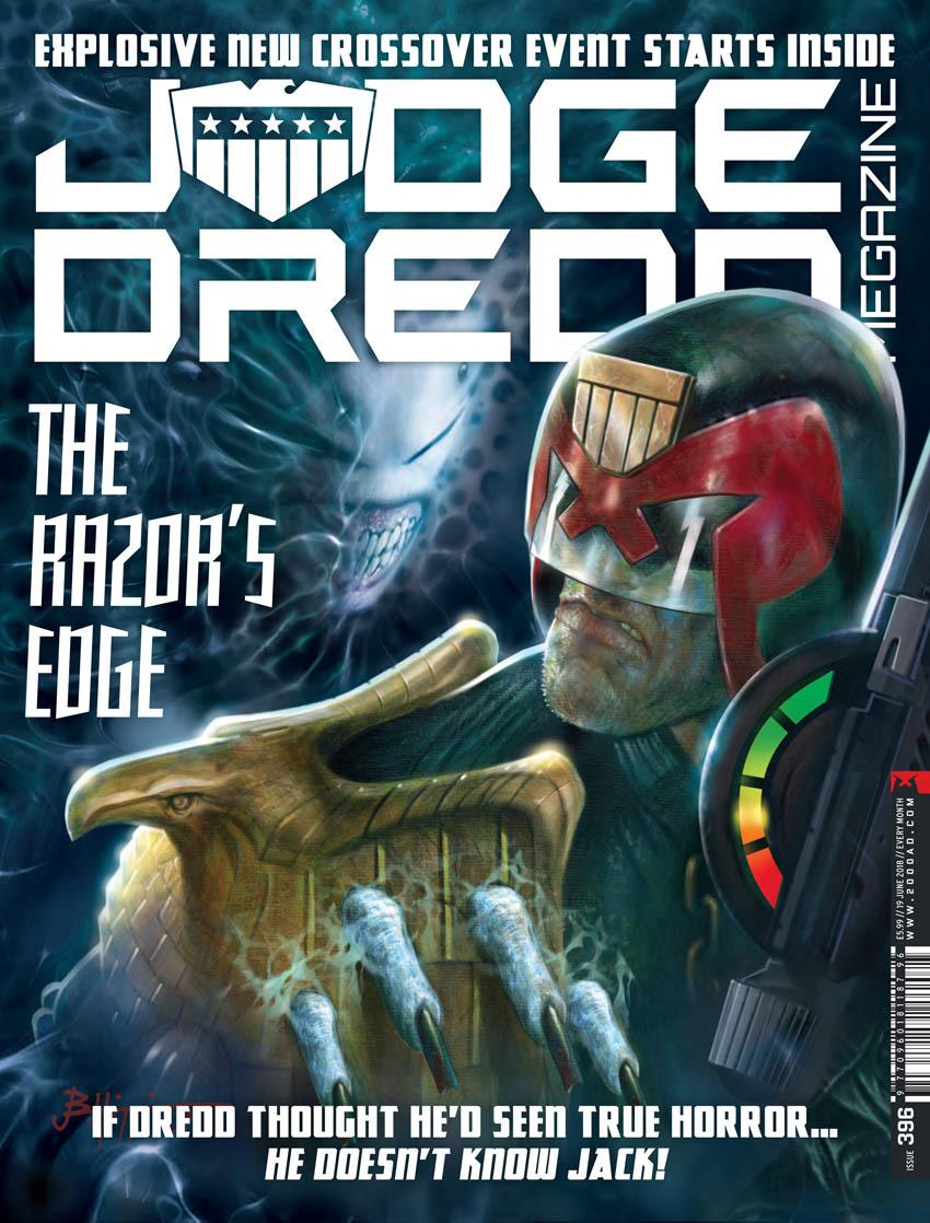 Judge Dredd Megazine 396