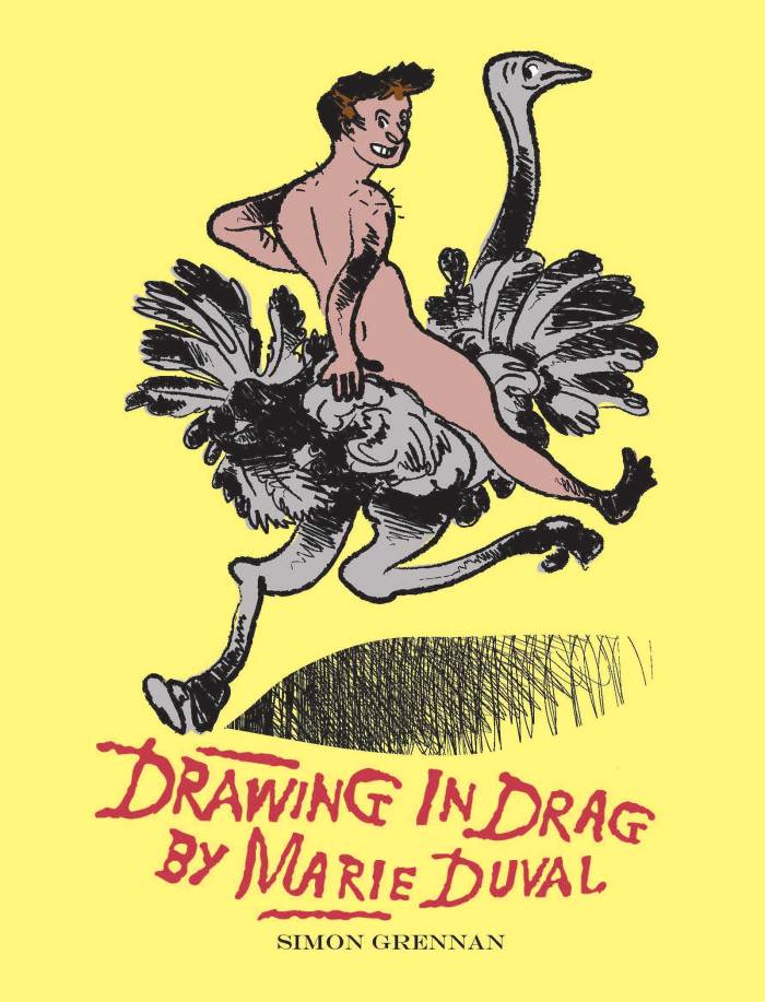 Drawing in Drag by Marie DuvalCover
