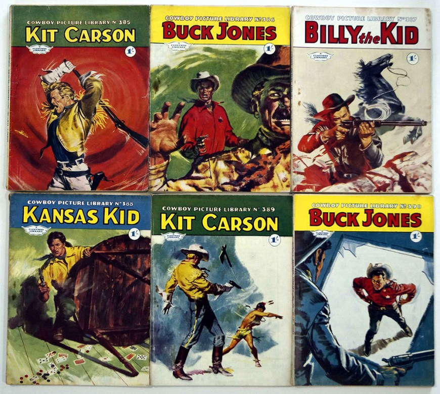 Cowboy Picture Library 385, 386, 387, 388, 389, 390