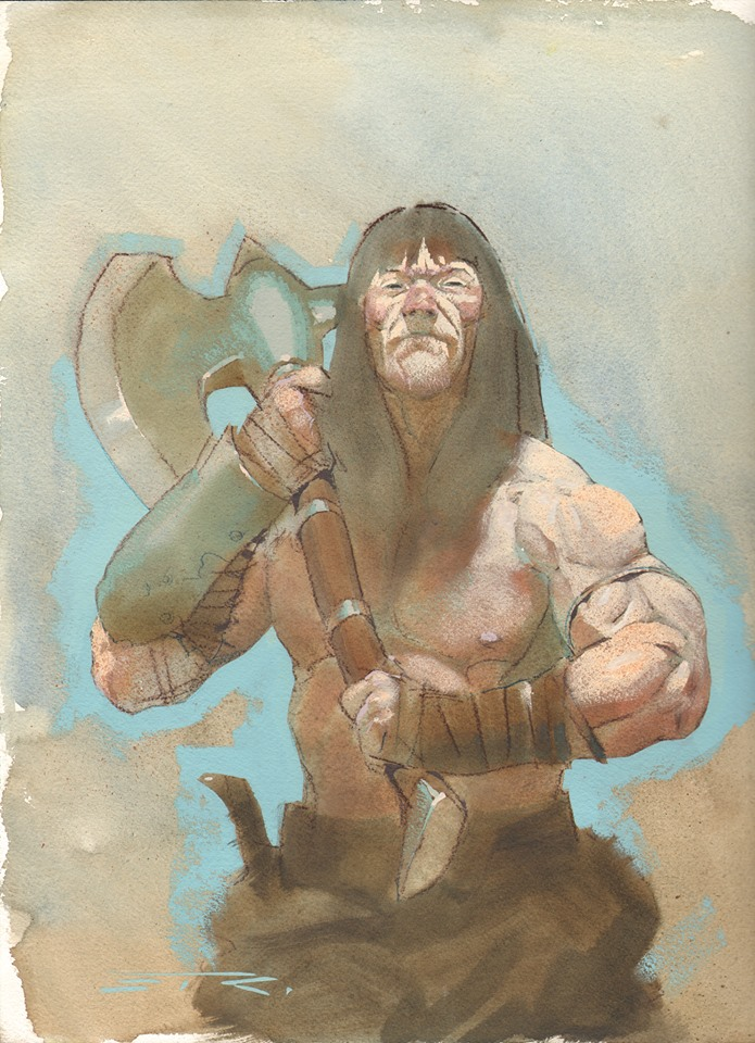 Conan the Barbarian by Esad Ribic