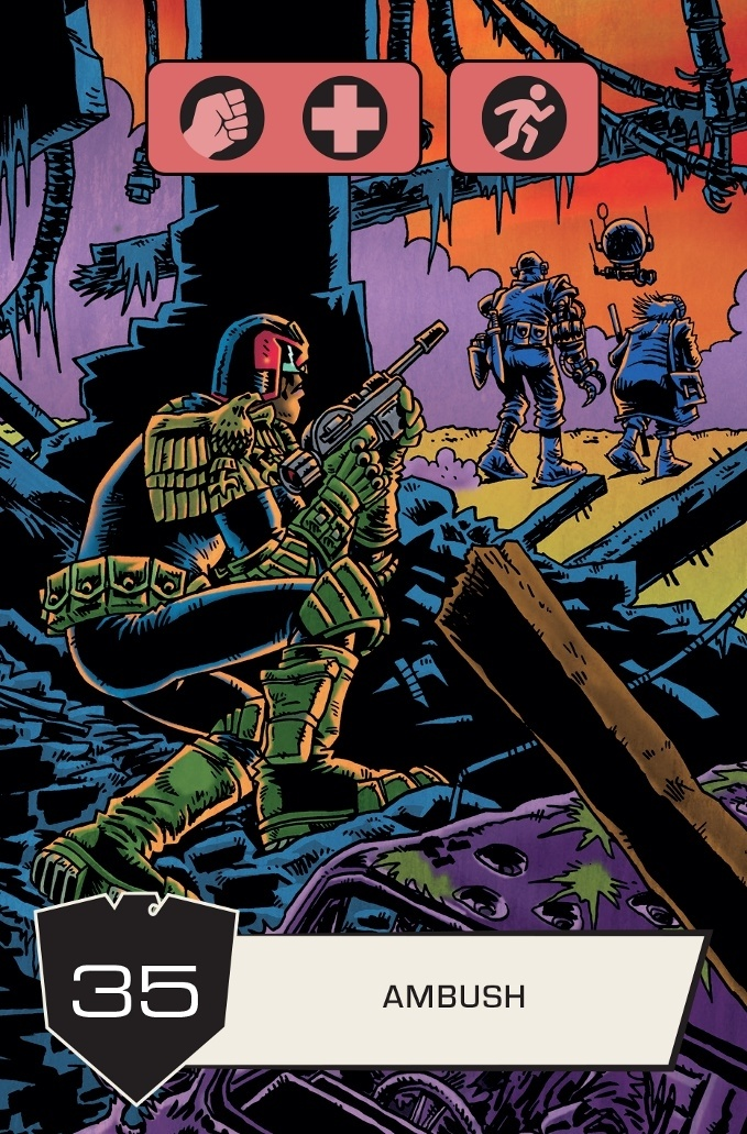 Judge Dredd: The Cursed Earth - Ambush