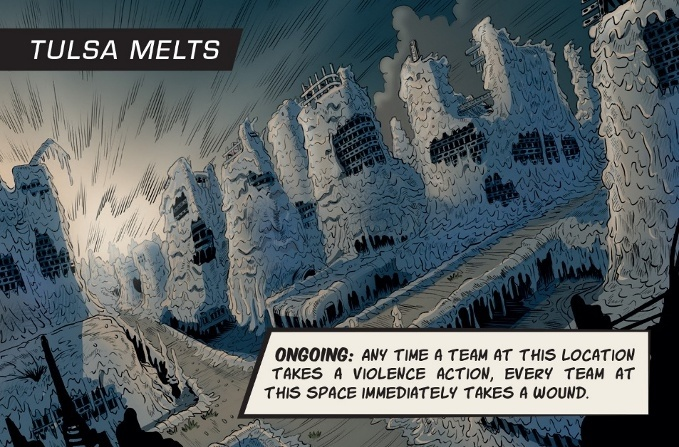 Judge Dredd: The Cursed Earth - Tulsa Melts