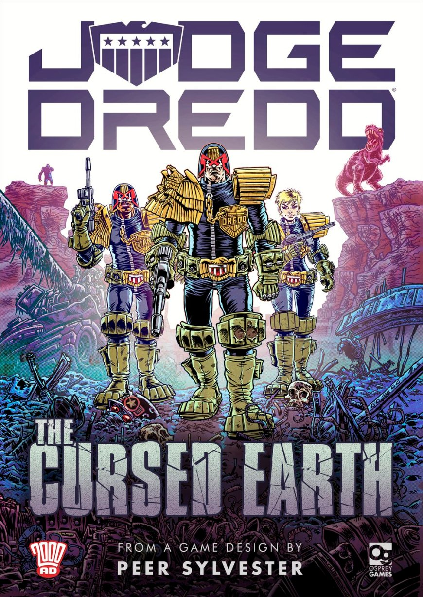 Judge Dredd: The Cursed Earth - Box Cover Art