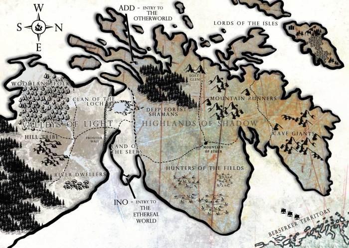 Saltire Map - Book One