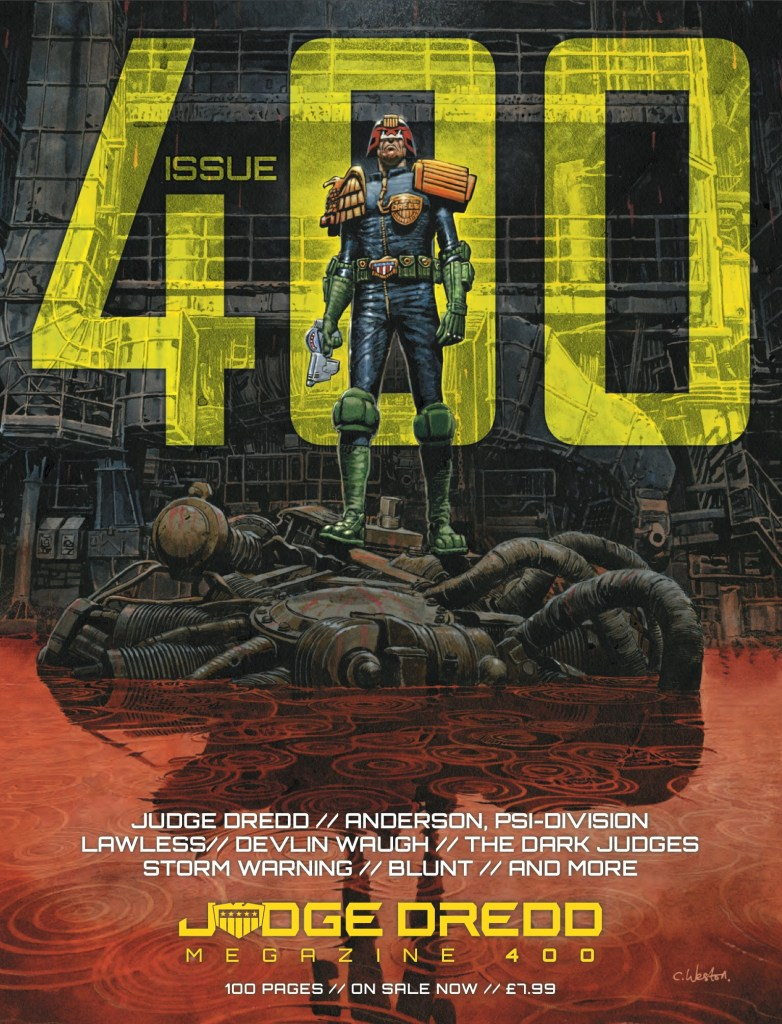 Judge Dredd Megazine 400 - Promotional Image