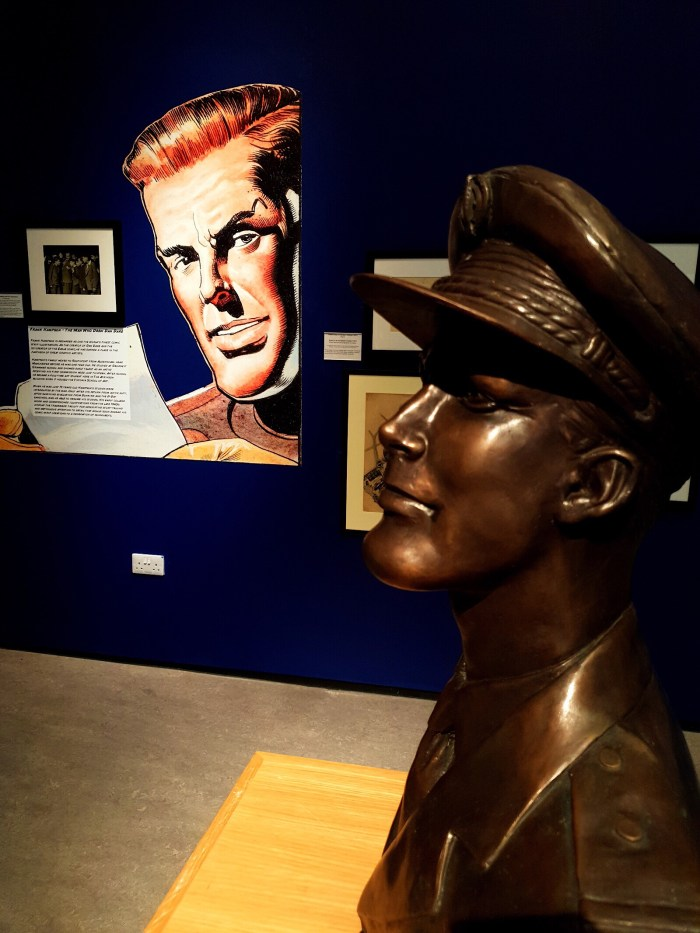 Frank Hampson – The Man Who Drew Dan Dare. Image courtesy The Atkinson