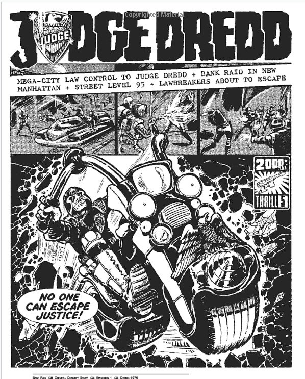 Judge Dredd by Carlos Ezquerra