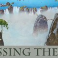 """Roger Dean """"Crossing the Line"""" Exhibition Poster SNIP"""