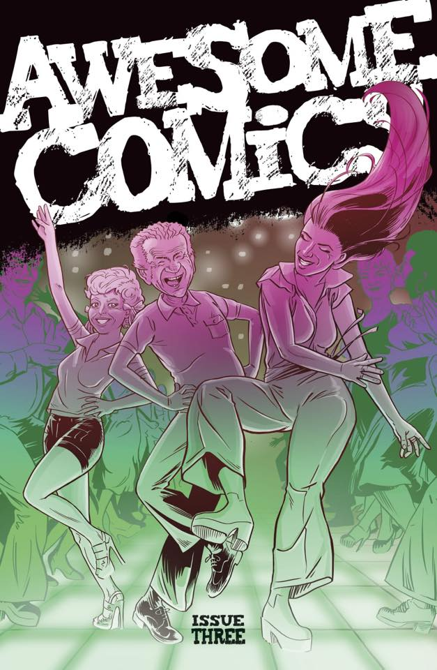 Awesome Comics anthology Issue Three