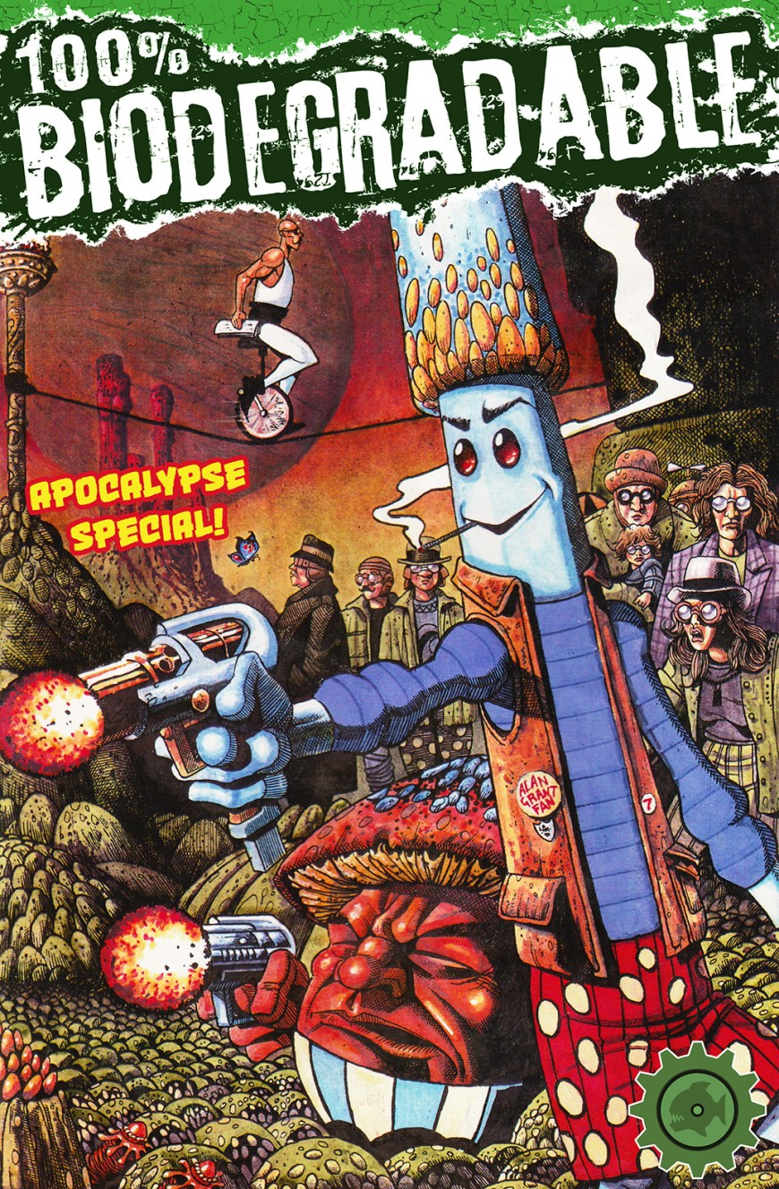 100% Biodegradable Apocalypse Special - Cover