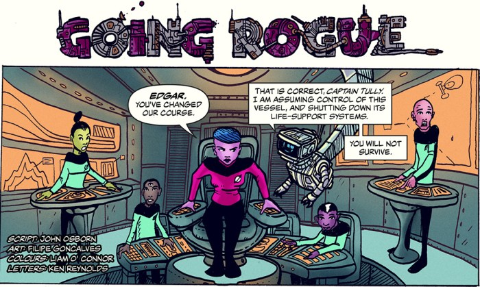 """Going Rogue"" by John Osborn, Filipe Goncalves, Liam O' Connor and Ken Reynolds"
