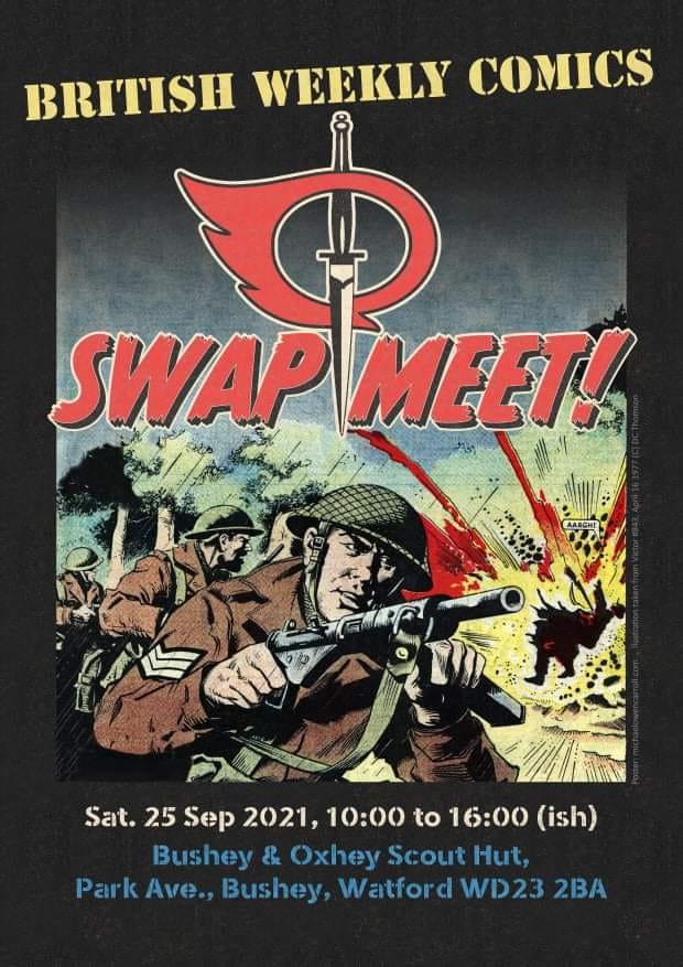 British Weekly Comics Swap Meet 2021