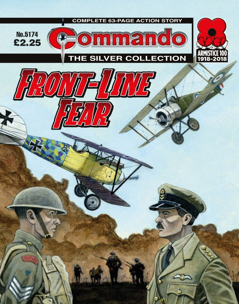 Commando 5174: Silver Collection: Front-Line Fear