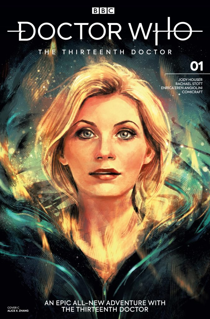 Doctor Who - The Thirteenth Doctor #1 Cover C - Alice X Zhang