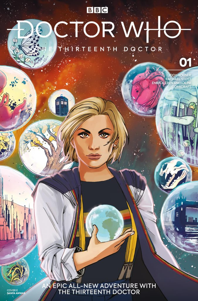 Doctor Who - The Thirteenth Doctor #1 Cover E - Sanya Anwar