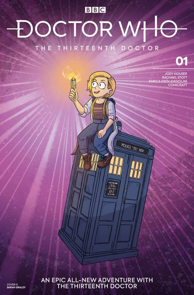Doctor Who - The Thirteenth Doctor #1 Cover G Sarah Graley