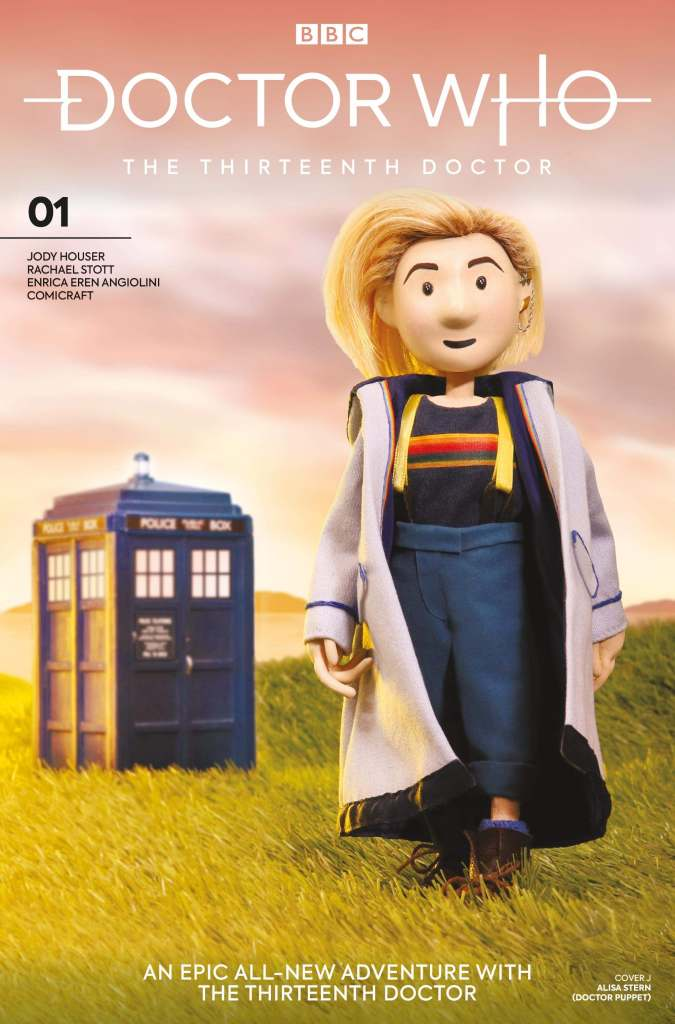 Doctor Who - The Thirteenth Doctor #1 Cover J - Doctor Puppet by Alisa Stern