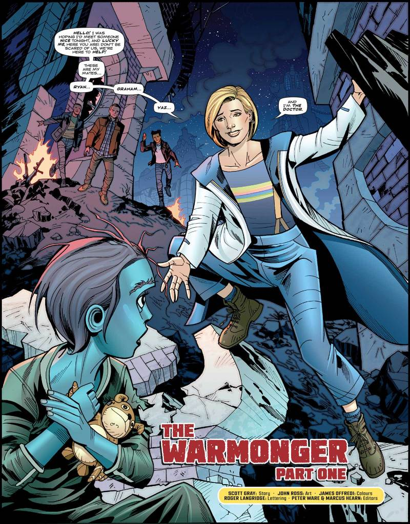 Doctor Who Magazine 531 - The Warmonger