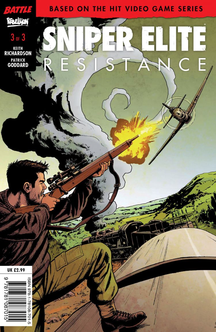 Sniper Elite - Resistance #3 - Cover