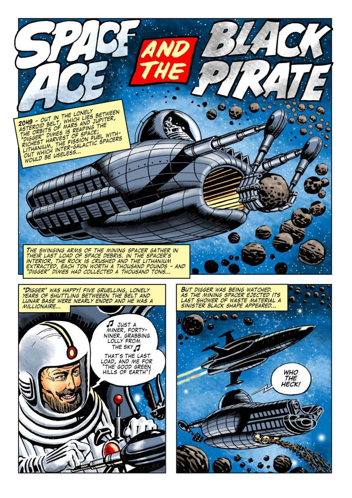 "Space Ace 11 - ""The Black Pirate"""