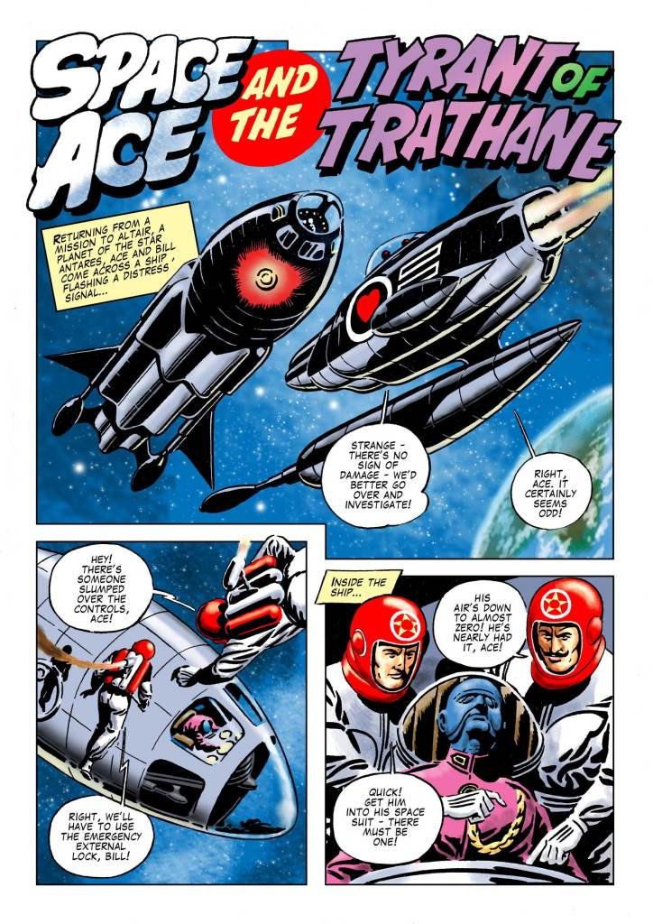"Space Ace 11 - ""Tyrant of Trathane"""