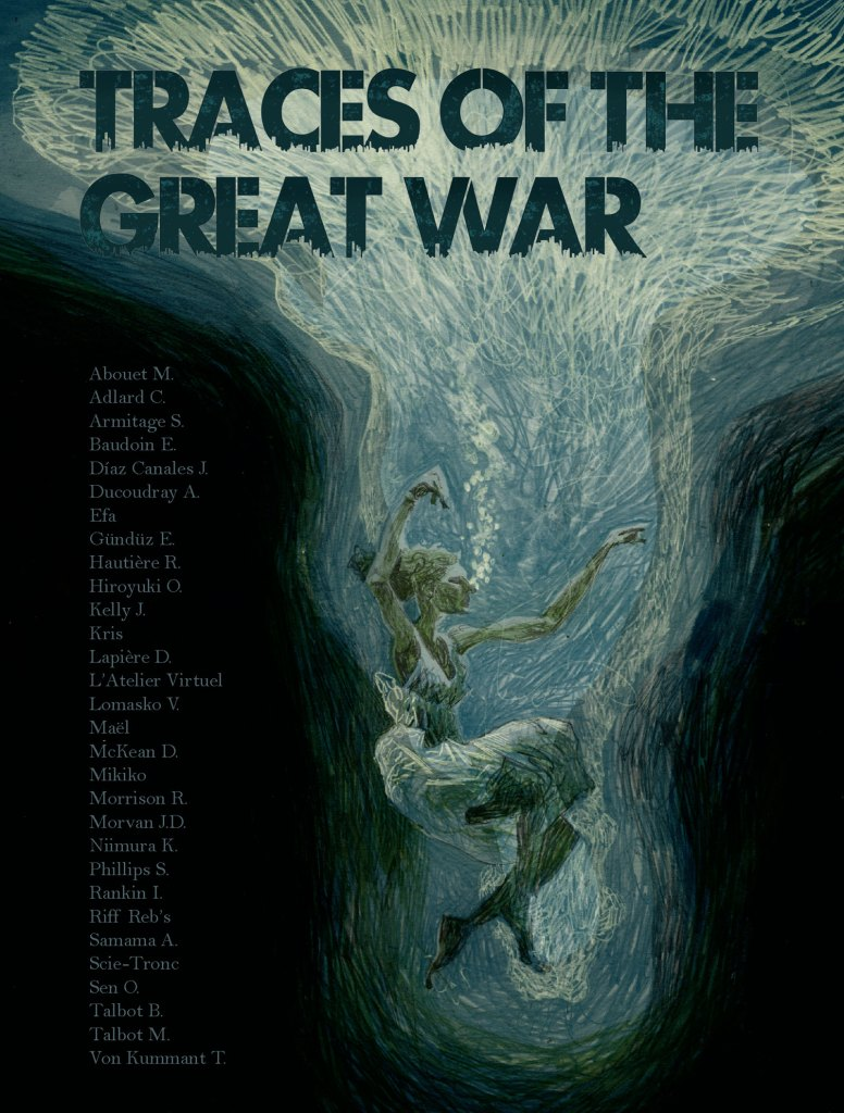 Traces of the Great War  - Cover
