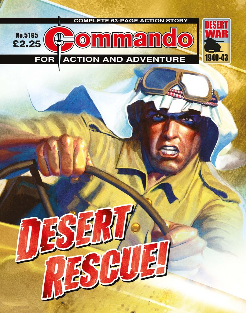 Commando 5165: Action and Adventure: Desert Rescue!