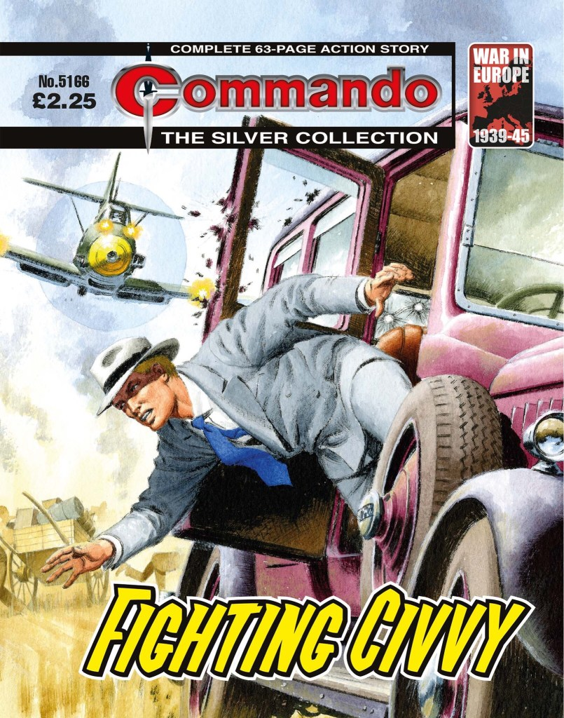Commando 5166: Silver Collection: Fighting Civvy