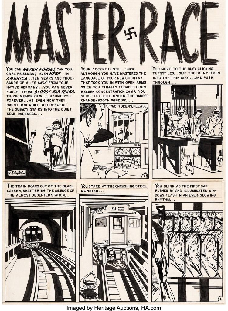 """Master Race"" by Bill Gaines, Al Feldstein and Bernie Krigstein"