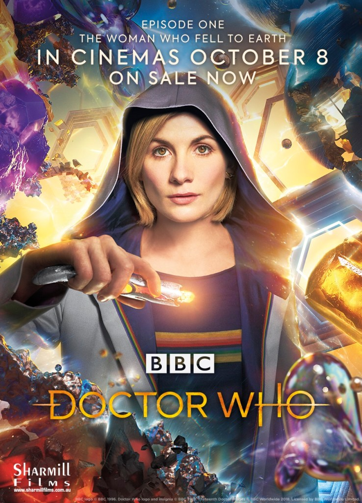 While British fans saw the new Doctor Who on their TV screens uncut, elsewhere in the world you had the opportunity to see it in cinemas