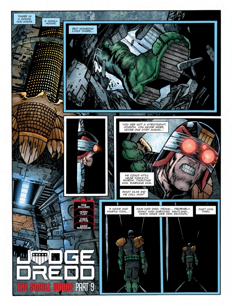 2000AD 2108 - Judge Dredd