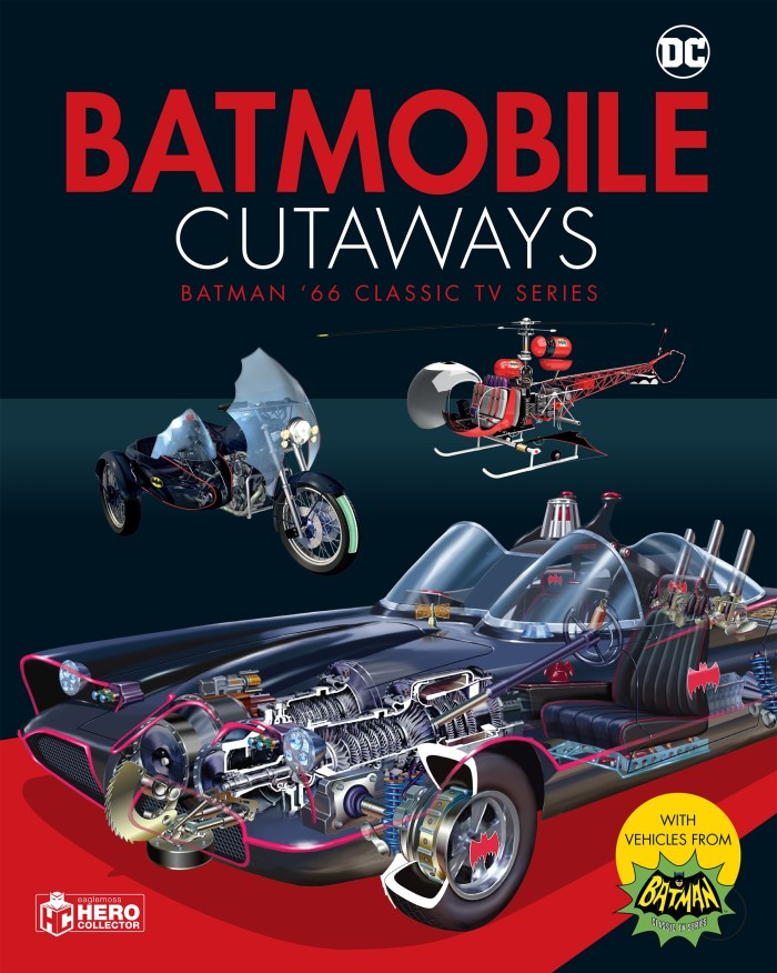 Batmobile Cutaways: Batman Classic TV Series