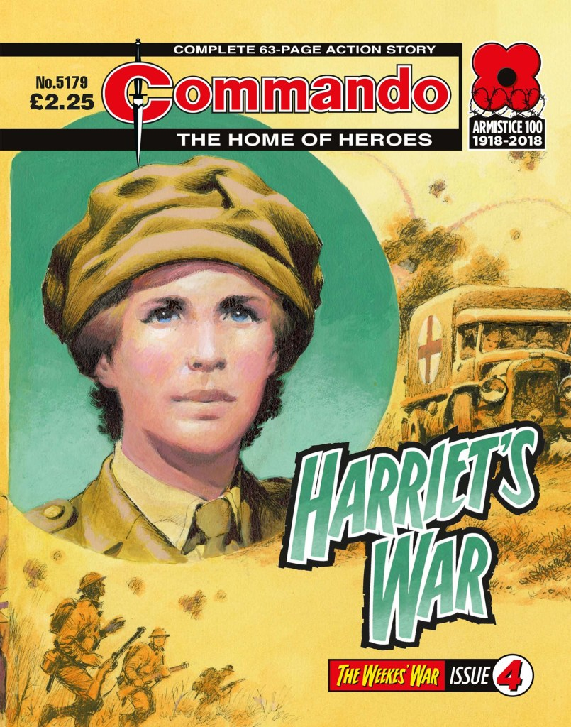 Commando 5179: Home of Heroes: Harriet's War