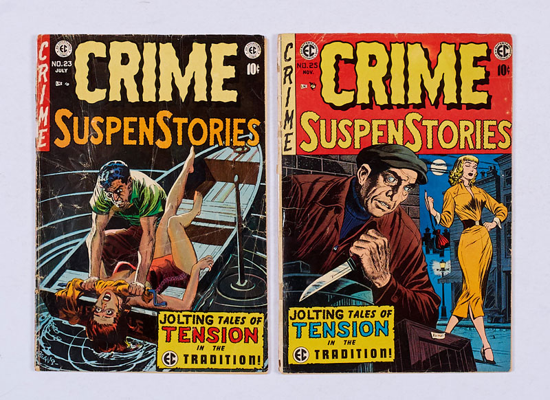 Crime SuspenStories - Various