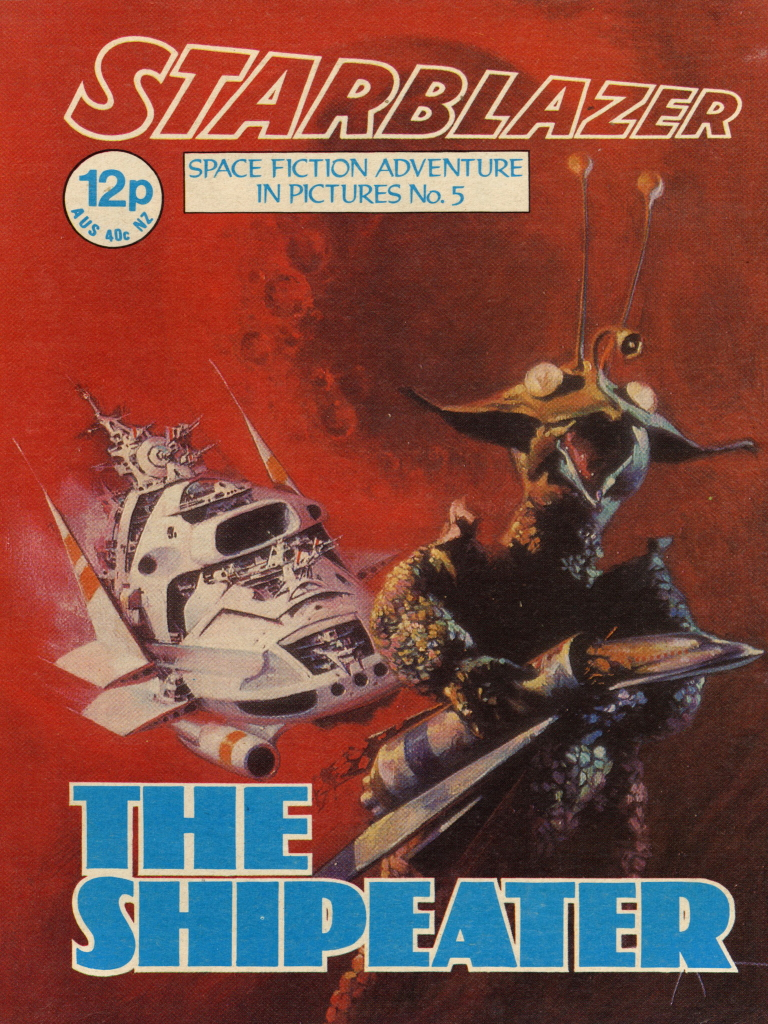 Starblazer No. 5: The Shipeater
