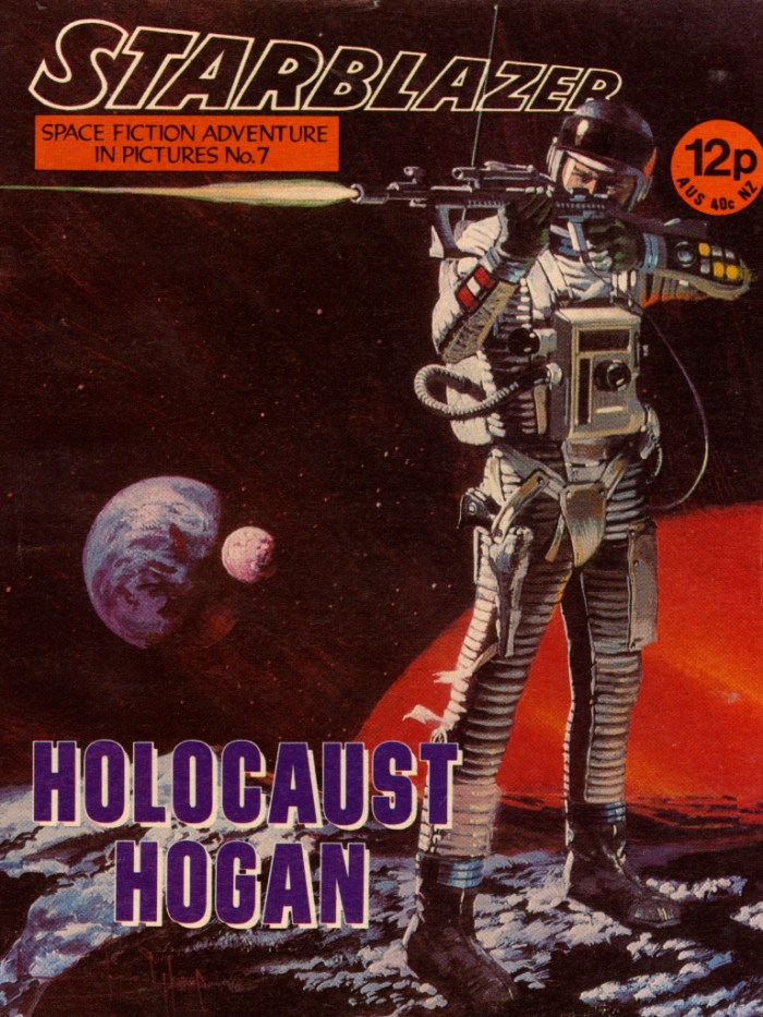 Starblazer No. 7: Holocaust Hogan