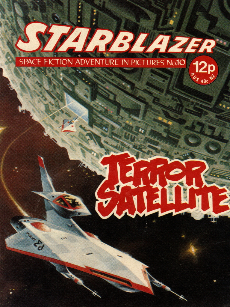 Starblazer No. 10: Terror Satellite