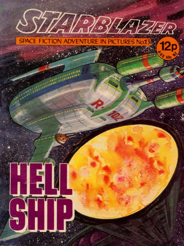 Starblazer No. 13: Hell Ship