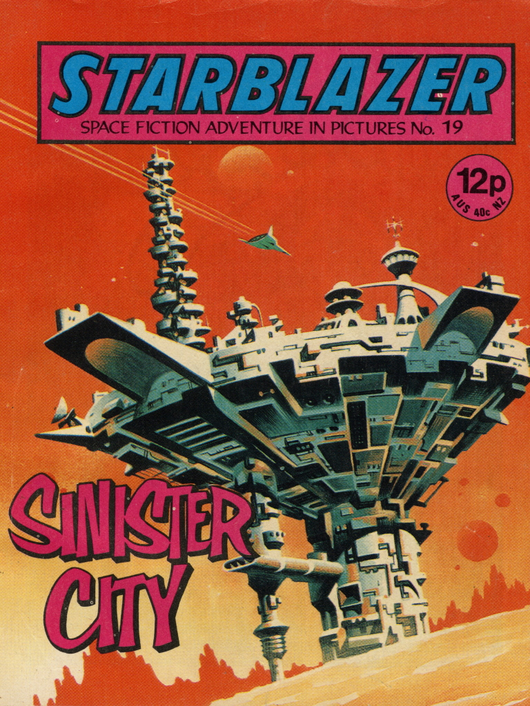 Starblazer No. 19: Sinister City